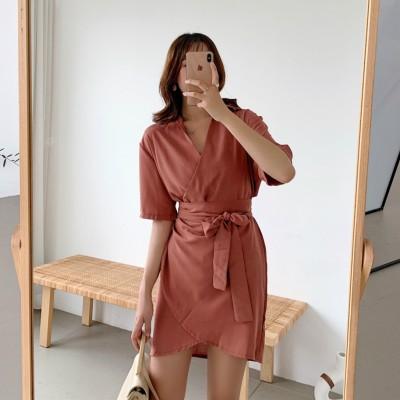 DR906019 KOREA V DRESS