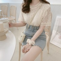 TP906045 SWEET LADY LACE TOP