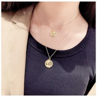 AS912023 DOUBLE LAYER NECKLACE