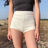 BT912029 AA STYLE KNITTED HOT PANTS