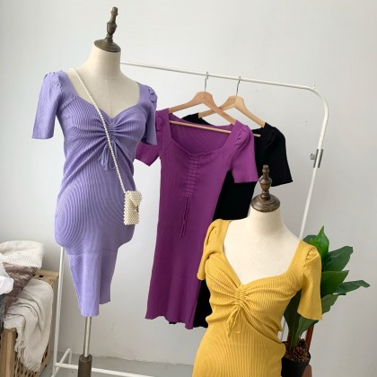 DR103001 BOWIE KNITTED DRESS