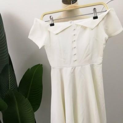 OFFSHOULDER DRESS SSY004